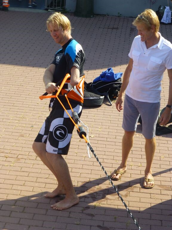 one arm man disabled water skiers now enjoy even more thanks to the wake & ski